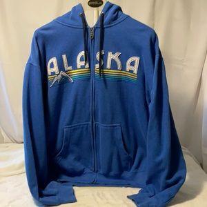 Alaska Hoodie Blue by Prairie Mountain Sz. Lrg.